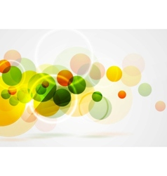 Bright summer geometric background vector image