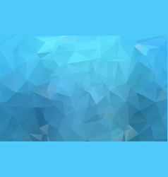 dark blue polygonal pattern brand-new colored in vector image