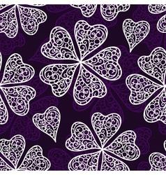flourish seamless pattern vector image