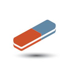 isometric eraser icon vector image