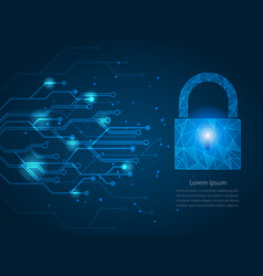 Safety network security concept vector