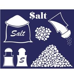 Salt vector image vector image