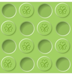 pastel green background vector image vector image