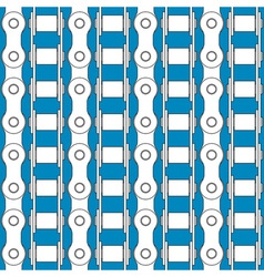 Bike chains pattern vector image vector image
