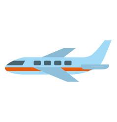 Airplane flight cartoon vector