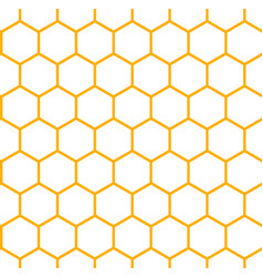 background of honeycomb vector image