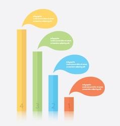 Bar Infographics vector