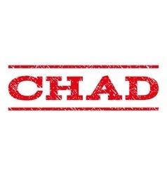 Chad Watermark Stamp vector image