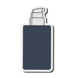 cosmetic bottle icon vector image