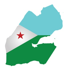 Djibouti Flag vector