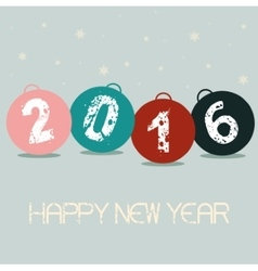 New Year Balls vector