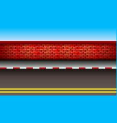 Scene road vector