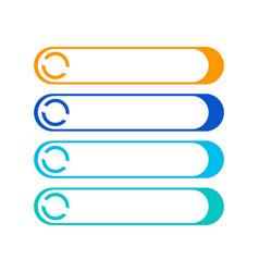 speech bubble icon logo template vector image