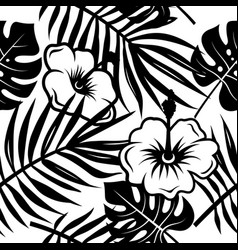 Tropical pattern 004 vector