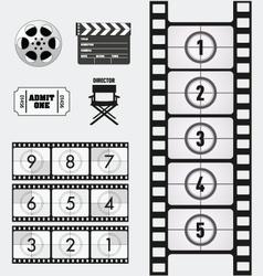Movie and cinema graphics vector