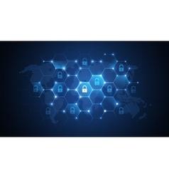 Global network security vector