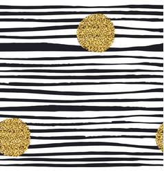 golden glitter dots grunge polka dots seamless vector image vector image