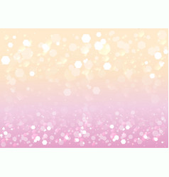 abstract blurred soft focus bokeh of bright pink vector image