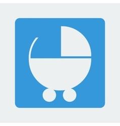 Buggy icon vector