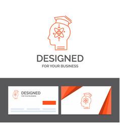 Business logo template for capability head human vector