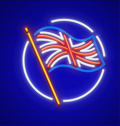 Great britain english flag vector