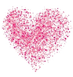 Heart of the spray vector image