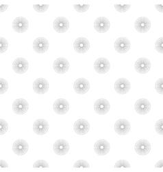 Polka Dot in Grey Gradient Circles of Multiple vector
