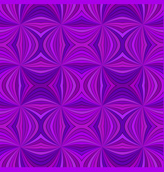 purple seamless hypnotic abstract swirling ray vector image