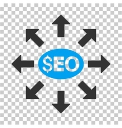 Seo Distribution Icon vector