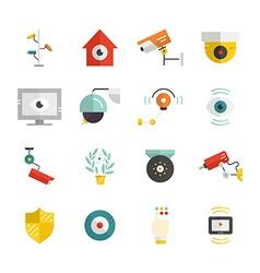 Surveillance Banners vector