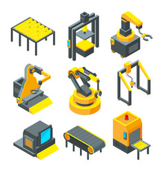 pictures of industrial tools for factory vector image vector image