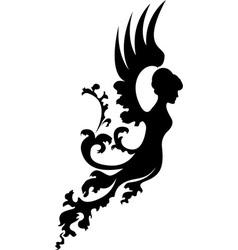 fantasy angel vector image