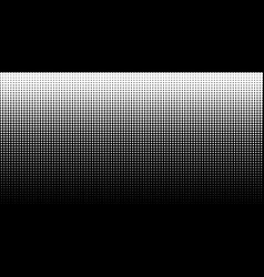 gradient halftone dots background horizontal vector image