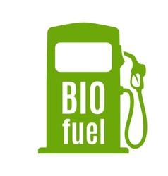 Bio fuel pump vector image
