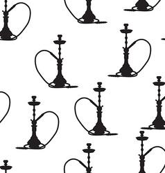 Hookah seamless pattern vector image vector image
