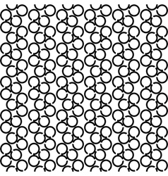 Seamless texture with circle elements vector image vector image