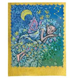 tarot card - nice dreams vector image