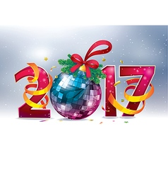 2017 Happy New Year vector