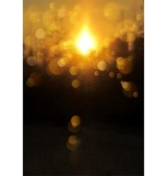 Blur soft sunshine landscape background vector