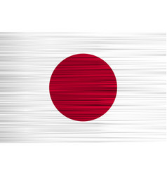 concept japanese flag white red circle vector image