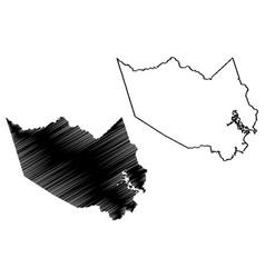 Harris county texas counties in texas united vector