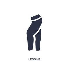Leggins icon on white background simple element vector