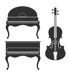 Piano Violin vector