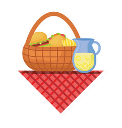 picnic image vector image
