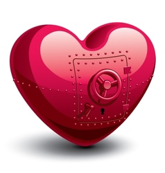 Safe heart vector