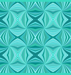 Turquoise abstract hypnotic seamless striped vector