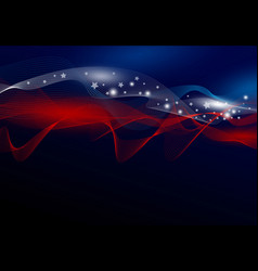 usa abstract background design of american flag vector image