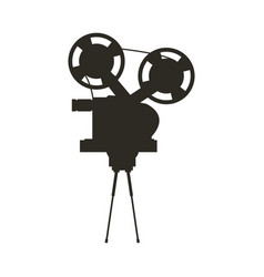 Short film video camera studio vector