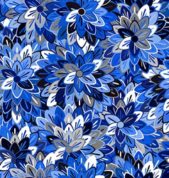 Multicolored Seamless Floral Pattern vector image vector image