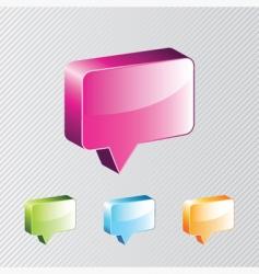 dialog box vector image vector image